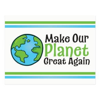 Planet Great Again Postcard