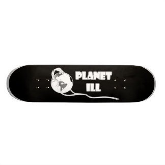 Planet Ill White Globe 19.7 Cm Skateboard Deck