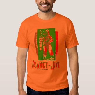 Planet Jive funky astronaut shirt