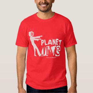 Planet Jive TV Zombie shirt