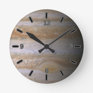Planet Jupiter Clock (With Numbers)