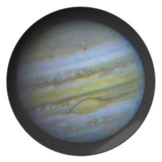 Planet Jupiter Dinner Plate. Dinner Plates