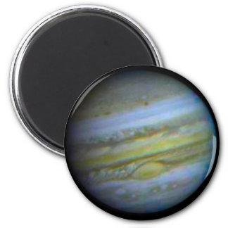 Planet Jupiter Magnet. 6 Cm Round Magnet
