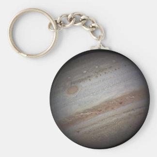 Planet Jupiter Space Keychain