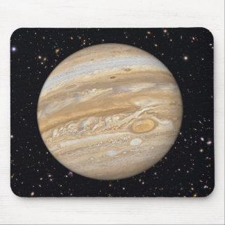 Planet Jupiter Starry Sky Mouse Pad