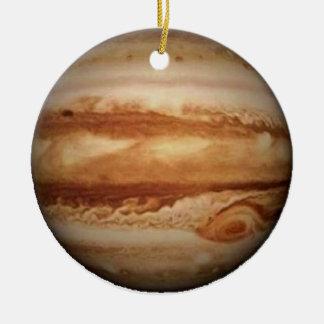 .PLANET JUPITER v.3 (solar system) ~ Round Ceramic Decoration