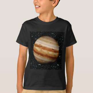 PLANET JUPITER v.4 star background (solar system) T-Shirt