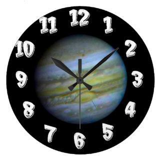 Planet Jupiter Wall Clocks
