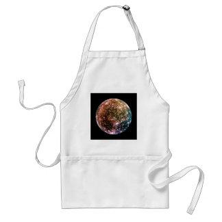 PLANET JUPITER'S MOON - CALLISTO (solar system) ~ Standard Apron
