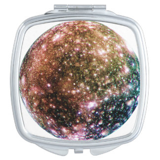 PLANET JUPITER'S MOON: CALLISTO VANITY MIRROR