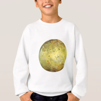 PLANET JUPITER'S MOON IO true color (solar system) Sweatshirt