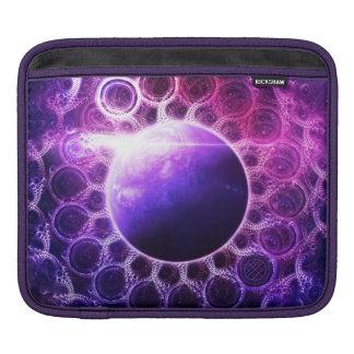 Planet Kepler 62e - Deep Dream Fractal Mandala iPad Sleeve