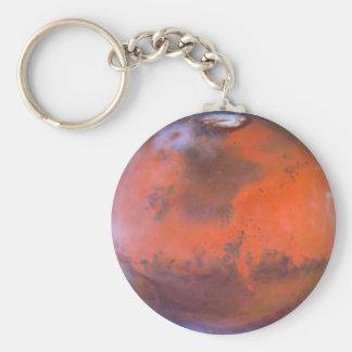 Planet Mars . Key Ring