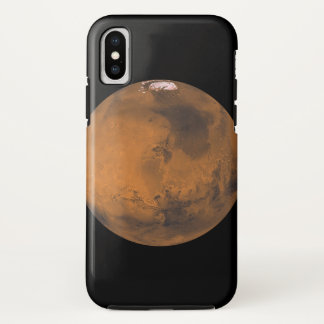 Planet Mars nerdy iPhone Case