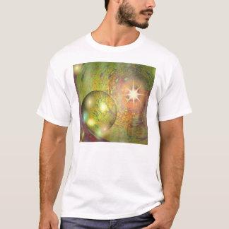 Planet Mit White Star T-Shirt