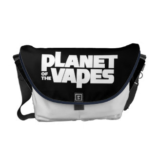 Planet of the vapes messenger bags