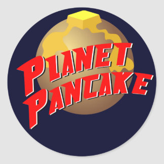 Planet Pancake Sticker