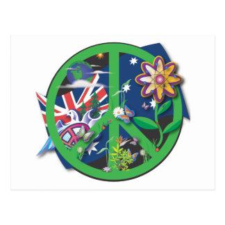 Planet Peace Postcard