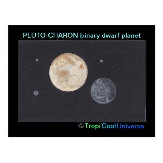 Planet PLUTO postcard