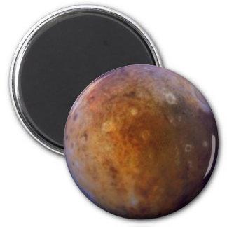 PLANET PLUTO (solar system) ~ 6 Cm Round Magnet