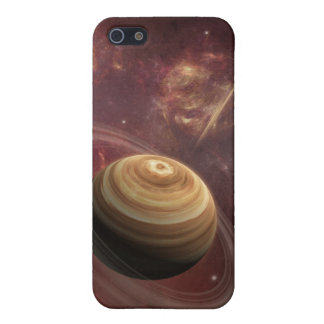 Planet, stars and Sun in Galaxy Fantasy Art iPhone 5/5S Covers