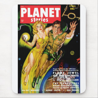 Planet Stories - Flame Jewel of the Ancients Mouse Pad