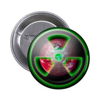 Planet Toxic 2010 6 Cm Round Badge
