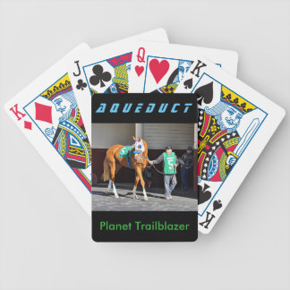 Planet Trailblazer Bicycle Playing Cards