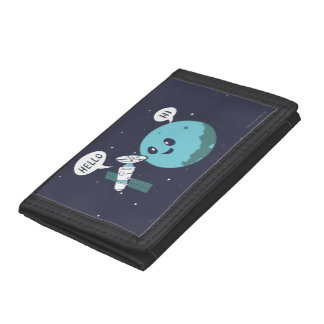 Planet Tri-fold Wallet