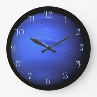 Planet Uranus Large Clock