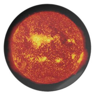 PLANET VENUS TRANSIT high definition solor system Plate