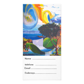 PLANET WATER by LEOMARIANO Photo Card Template