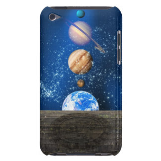 Planetary alignment, computer artwork. iPod touch Case-Mate case