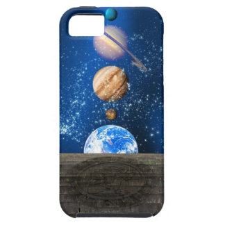 Planetary alignment, computer artwork. tough iPhone 5 case