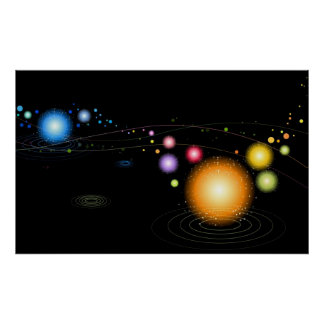 Planetary Alignment Poster