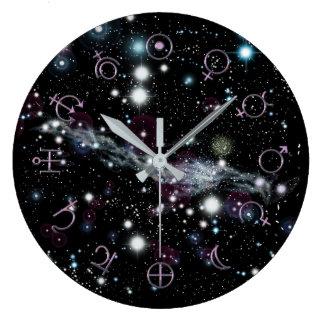 Planetary Glyphs Deep Space Astronomy Clock