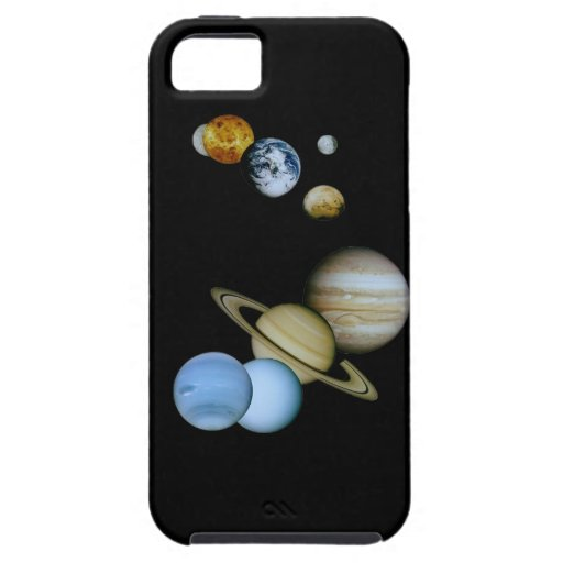Planetary Montage iPhone 5 Covers