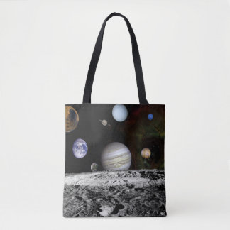 Planetary Montage Tote Bag