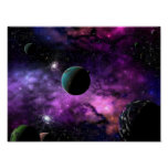 Planetary Space Print