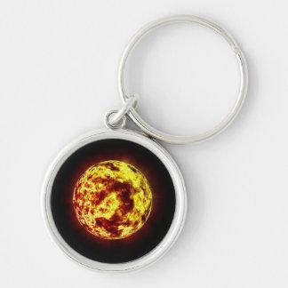 Planetoid Celestial Body Keychain