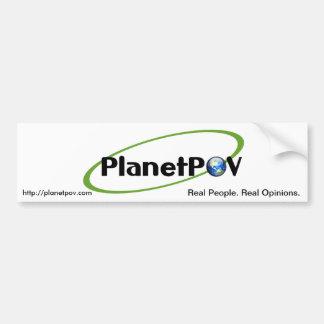 PlanetPOV - Bumper Sticker #1