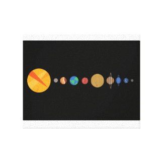 Planets Aligned Canvas Print