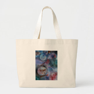 Planets amongst the  cosmos large tote bag
