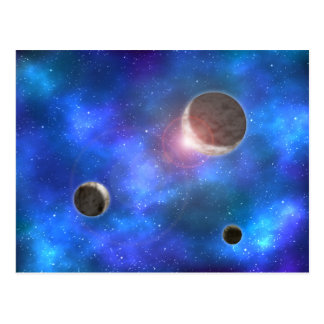 Planets and Nebulae Postcards