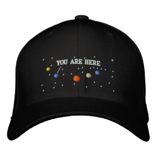 PLANETS - HAT EMBROIDERED HAT