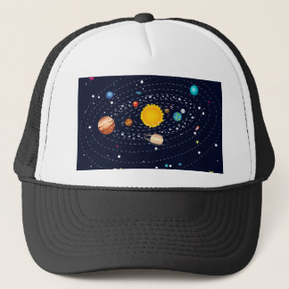 Planets of Solar System 2 Trucker Hat