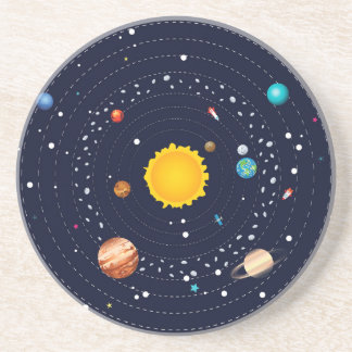 Planets of Solar System Coaster