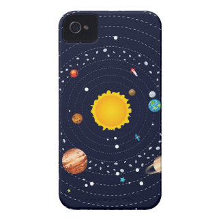 Planets of Solar System iPhone 4 Case-Mate Case