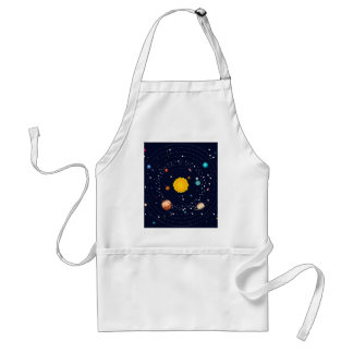 Planets of Solar System Standard Apron