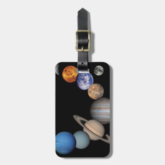 Planets of the solar system bag tag